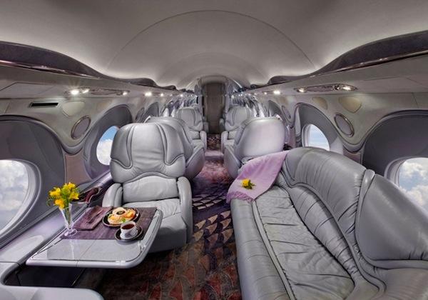 15 Incredible Luxury Jet Interiors